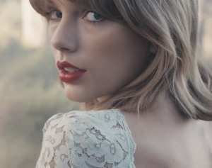 Taylor from video Blank Space